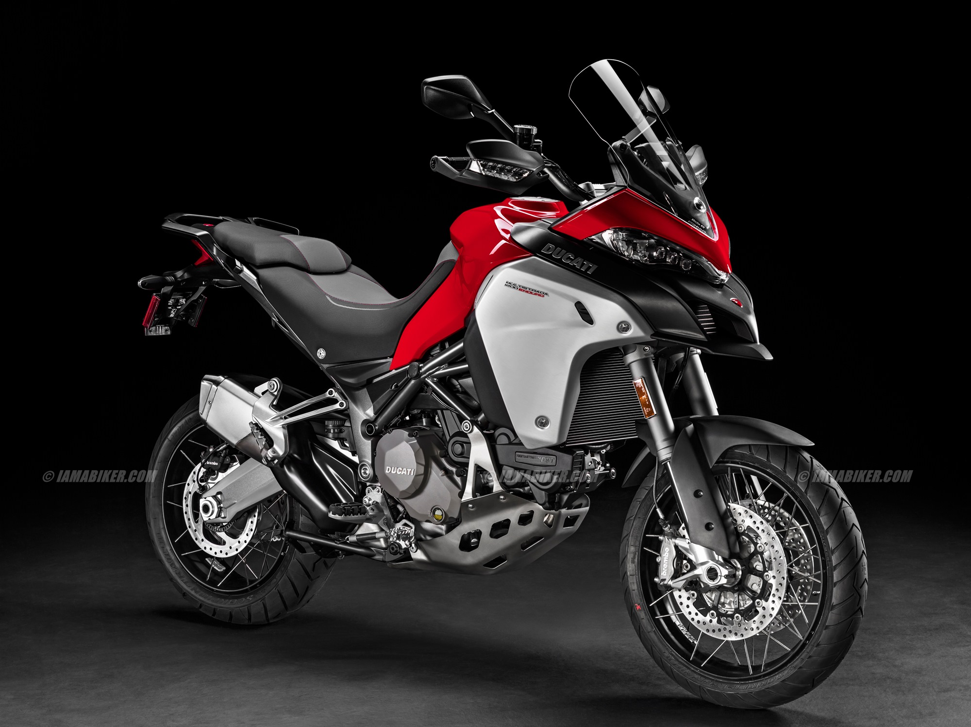 2016 Ducati MULTISTRADA 1200 ENDURO red
