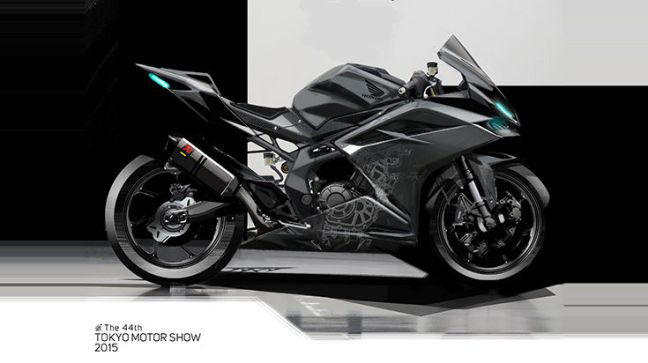 Honda CBR 250RR side profile