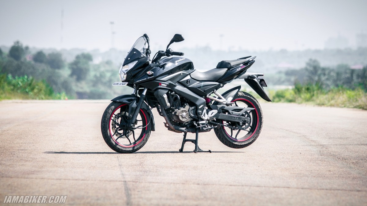 Pulsar AS 200 review looks, feel and build quality