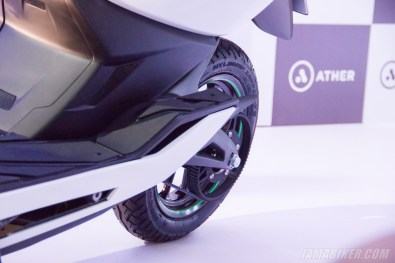 Ather Energy - S340 electric scooter belt drive