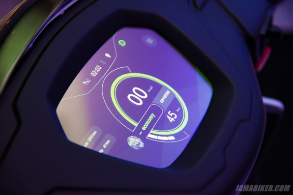 Ather Energy - S340 electric scooter - touchscreen
