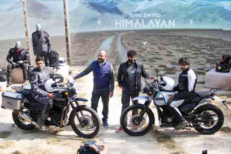 Royal Enfield Himalayan launch