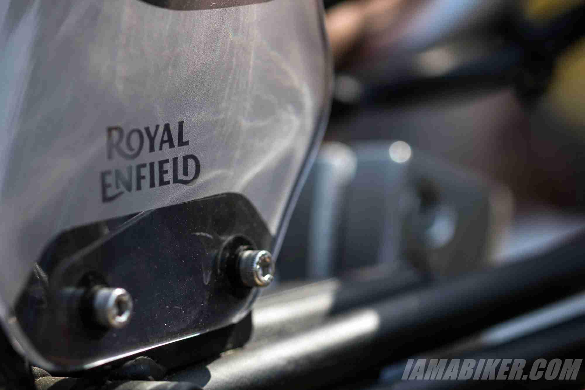 Royal Enfield Himalayan branding