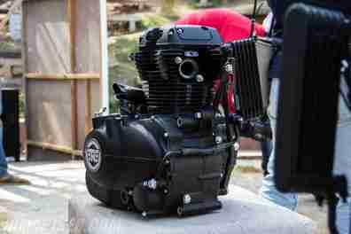 Royal Enfield Himalayan 410 engine