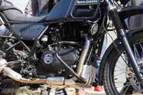 Royal Enfield Himalayan engine bash plate