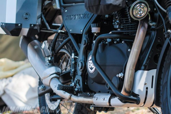 Royal Enfield Himalayan close up