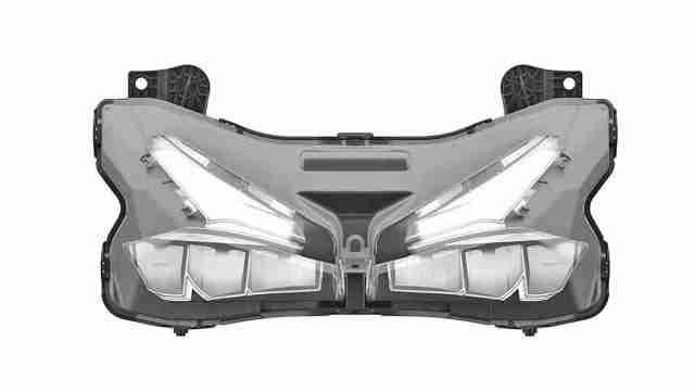 Honda CBR250RR headlight