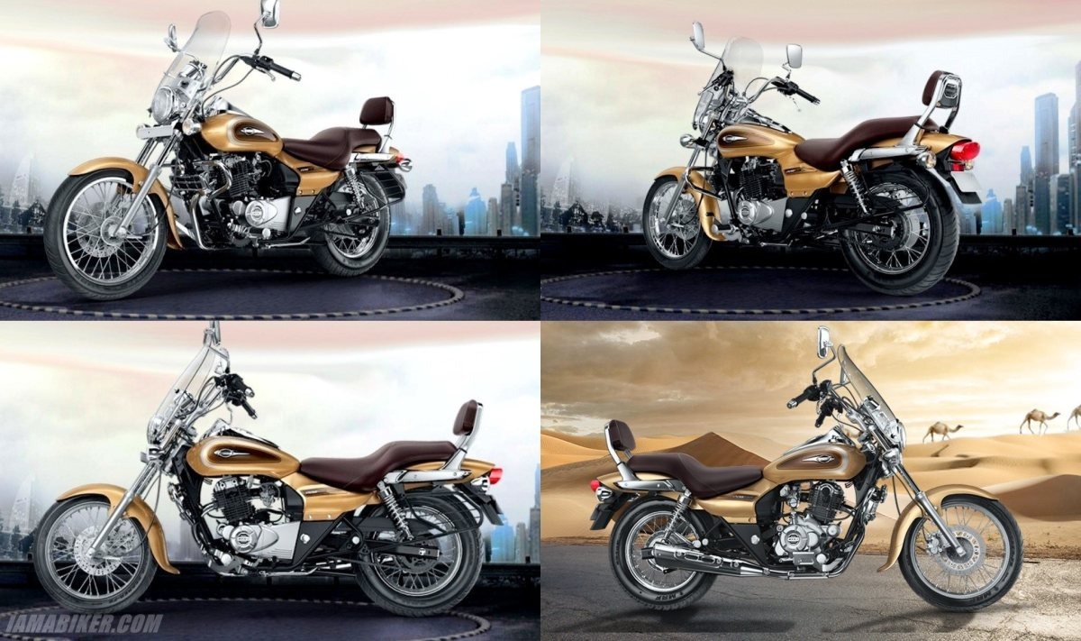 Bajaj-Avenger-Cruise-220-colour option-Desert-Gold