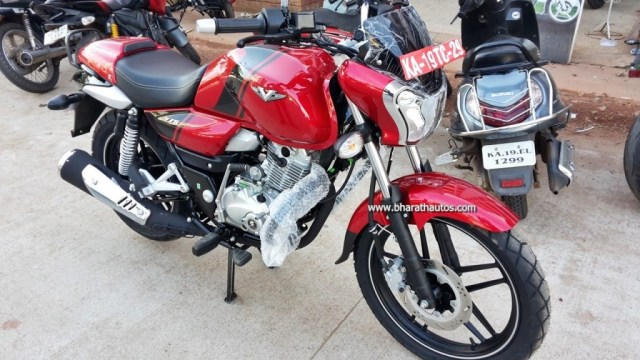 Bajaj V15 new colour option spotted