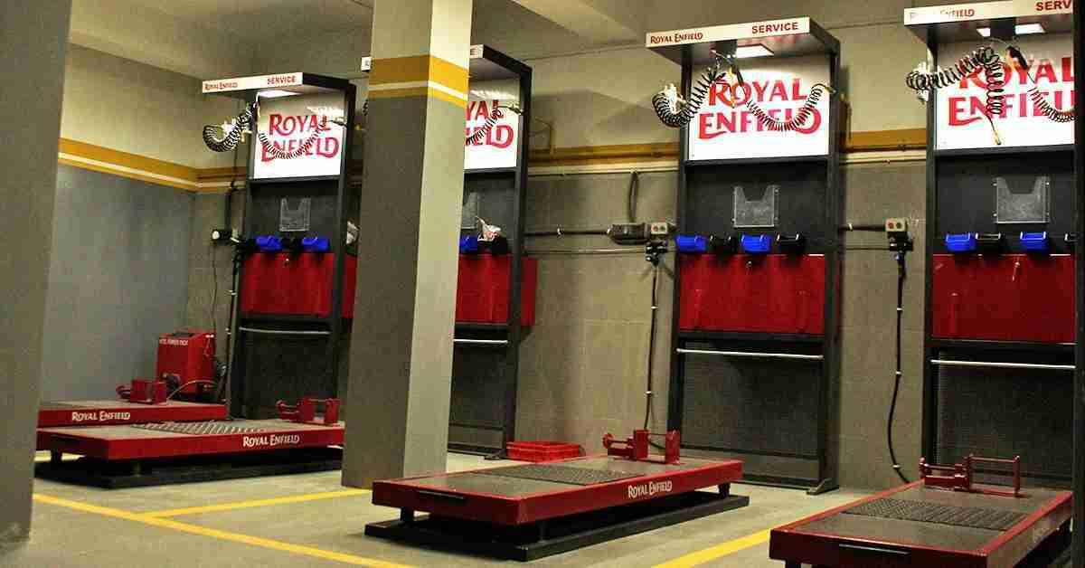 Royal Enfield service centre Leh