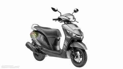 Yamaha Alpha Black colour option
