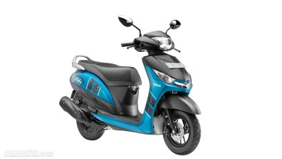 Yamaha Alpha Blue colour option