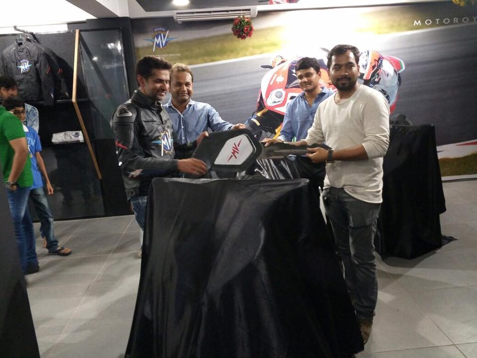MV Agusta Ahmedabad delivery