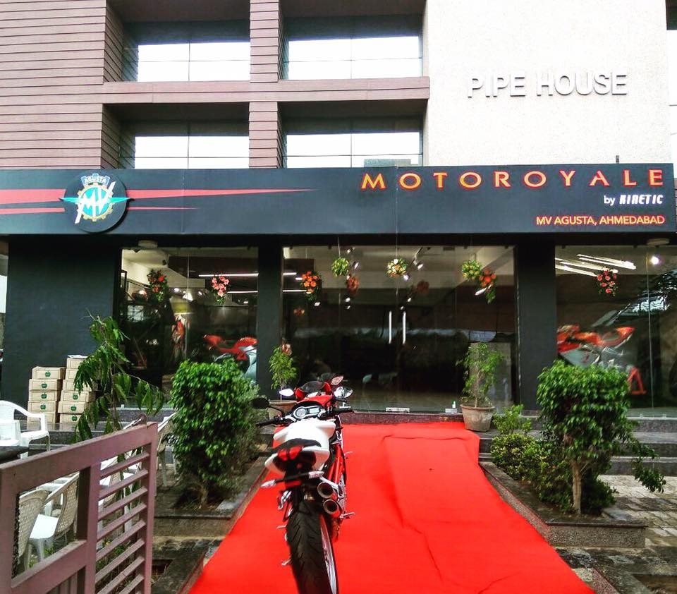 MV Agusta Ahmedabad showroom