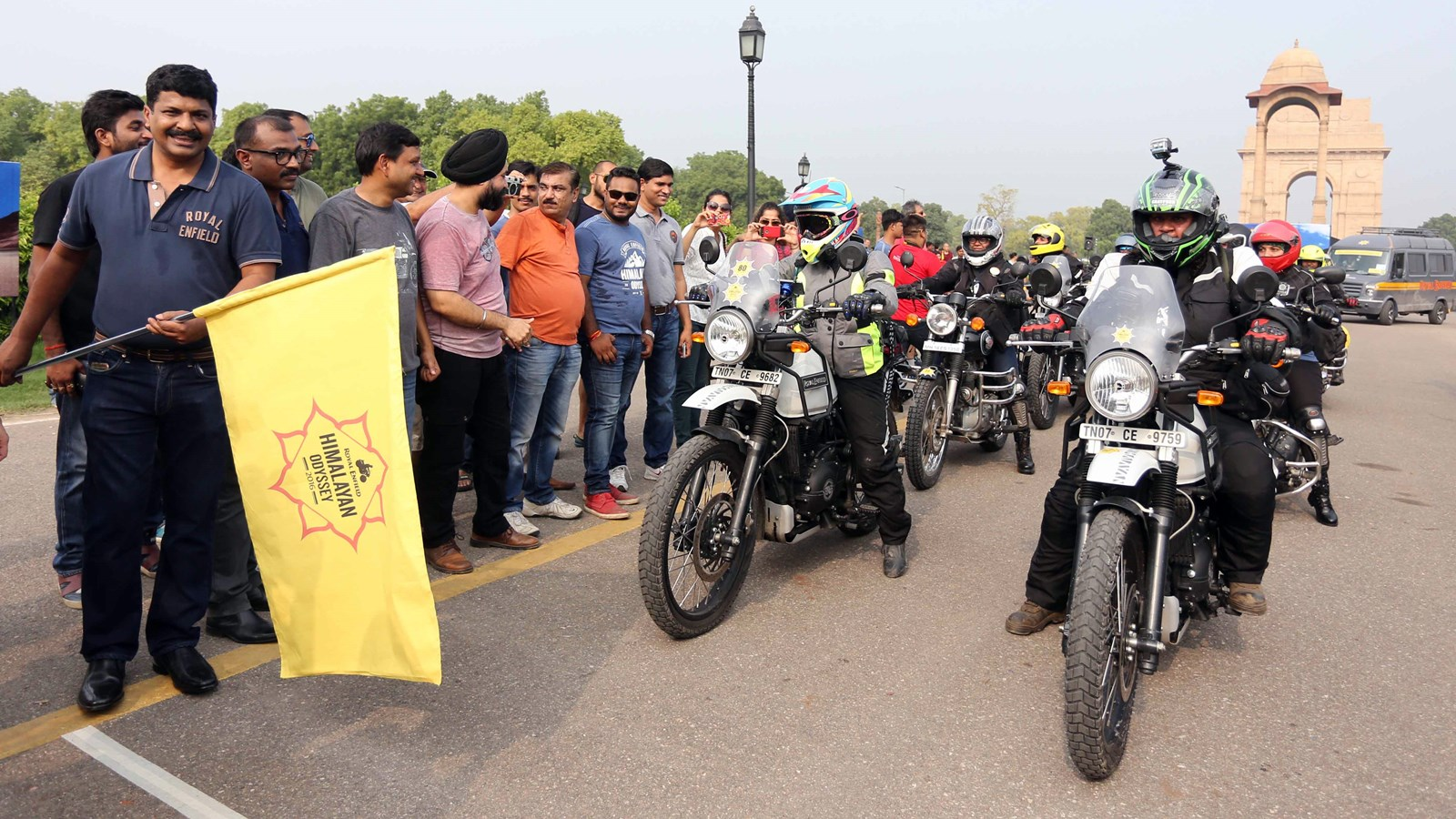 Royal Enfield Himalayan Odyssey for women flagoff