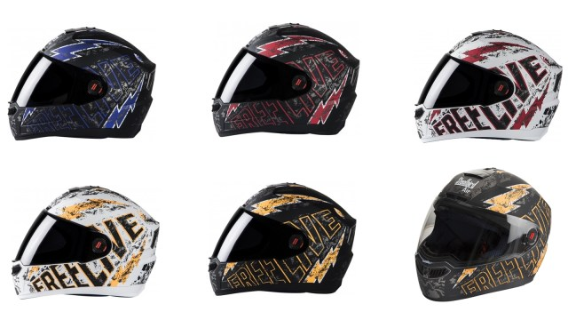 Steelbird SBA 1 Free Live helmet series
