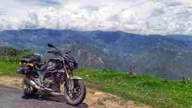 Sarath Shenoy - Bhutan - Mahindra Mojo