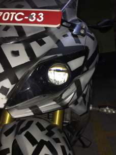 TVS Akula images (Apache RR 310S) projector headlights