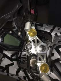 TVS Akula images (Apache RR 310S) clip on