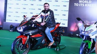 Mr. Shirish Kulkarni DSK Benelli 302R