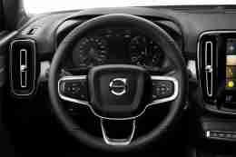 New Volvo XC40 steering