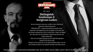 Royal Mavericks to undertake International Gentleman's Ride for Prostate Cancer Awareness on 24th September
