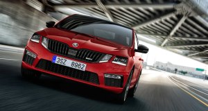 Skoda Octavia RS 230 India Red