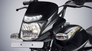 Bajaj Platina ComforTec now with LED Daylight Running Lights (DRL)