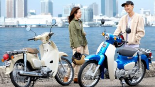 Honda Super Cub updated for 2017-2018