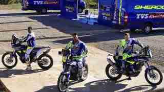 Sherco TVS Dominates PanAfrica Rally