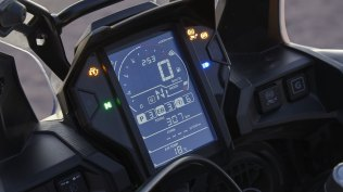 2018 Honda CRF1000L Africa Twin Adventure Sports meters