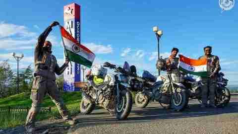 Dominar 400, Trans-Siberian Odyssey, Deepak Kamath, Dilip Bhat, Sudhir Prasad