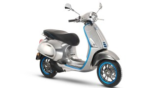 Vespa Elettrica - the electric Vespa