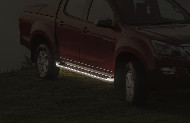 2018 ISUZU D-MAX V-Cross -Side steps
