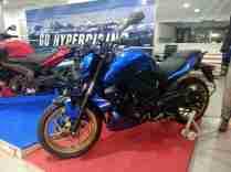 Dominar 400 blue colour option