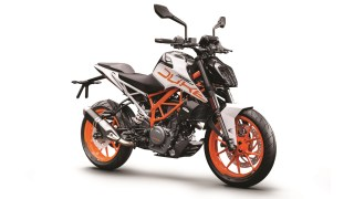 KTM 390 DUKE ABS white colour option