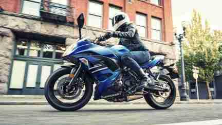 Kawasaki Ninja 650 Blue colour options India