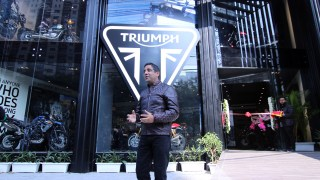 Triumph showroom Gurugram