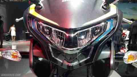 2018 Honda CBR 250R led headlights