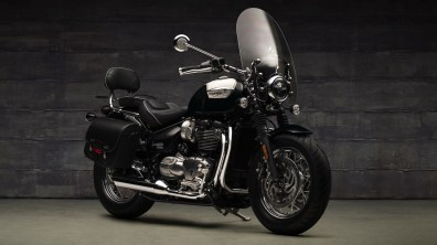 2018 Triumph Bonneville Speedmaster with Highway Kit