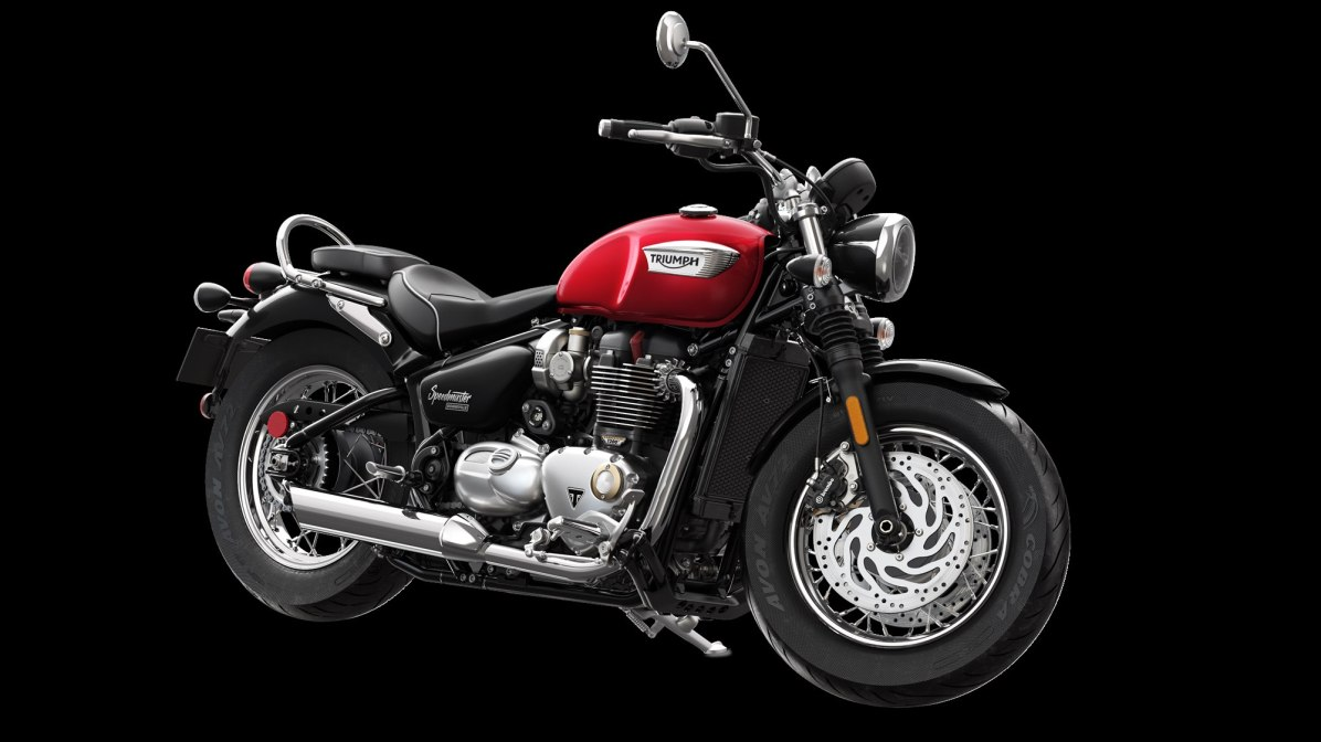 2018 Triumph Speedmaster Cranberry Red