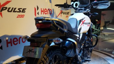 Hero XPulse 200 silencer seat speedometer