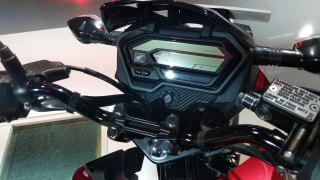 Honda XBlade speedometer