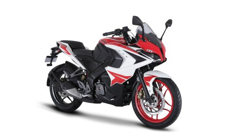 Pulsar RS 200 - Racing Red colour option