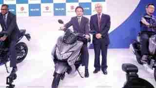 Suzuki Burgman Street launch