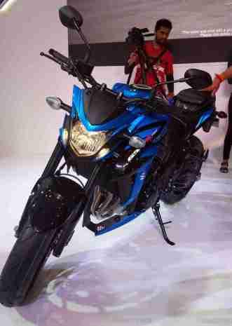Suzuki GSX-S750 for India