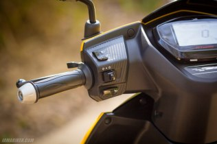 TVS NTORQ 125 left handle bar and switch gear