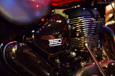 Thunderbird 350X engine