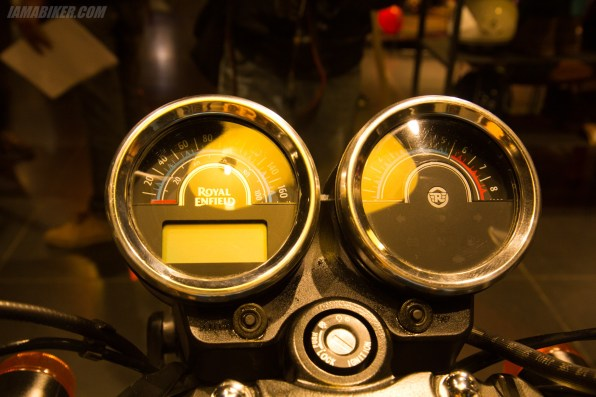 Thunderbird 500X instrument console meters