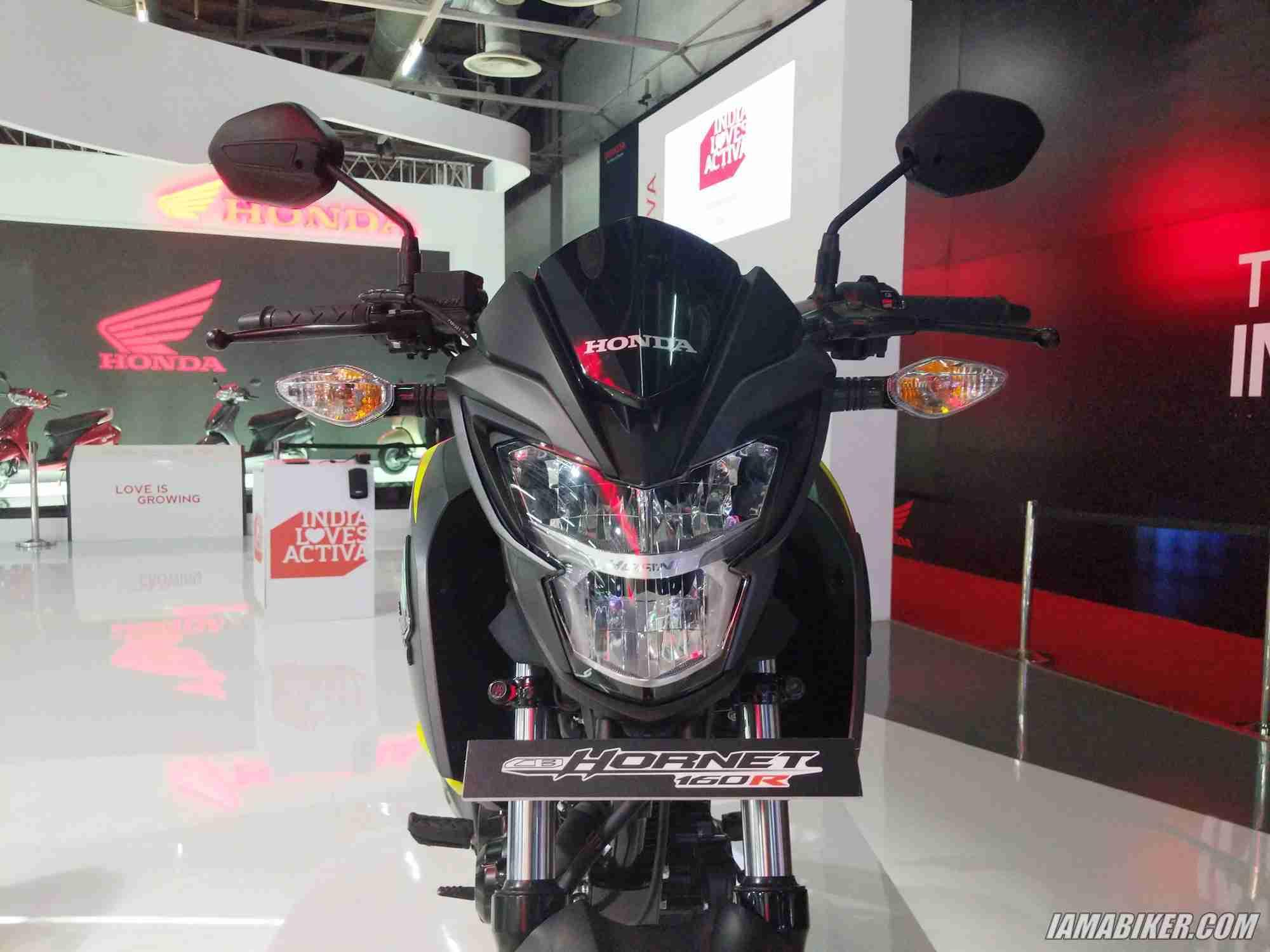 2018 Honda CB Hornet 160R LED headlights